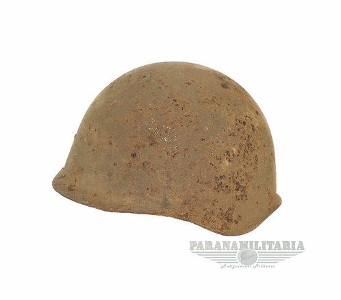 """Capacete Ssh40 Soviético """"Kurland Relic"""" - 2ª Guerra Mundial"""