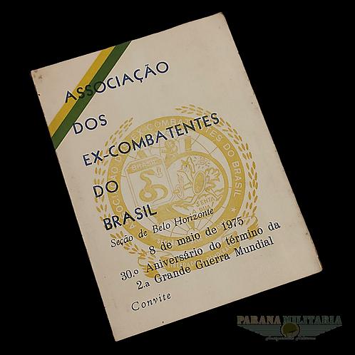 Convite FEB 1975 - lote 10