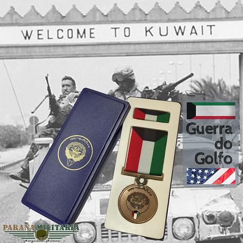 Medalha Libertação do Kuwait 1991 – Guerra do Golfo