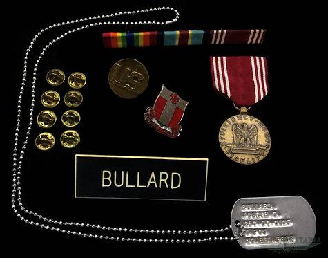 """Pertences do mesmo Soldado """"BULLARD"""""""
