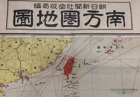 Mapa Japonês 1935 - Área Sul