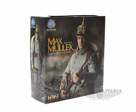 Did Figura 1/6 Max Muller Soldado Alemão 1ª Guerra Mundial