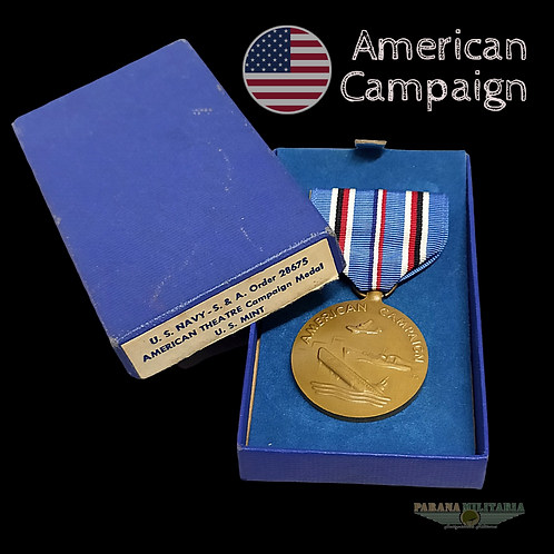 Medalha Campanha Americana - 2ª Guerra Mundial