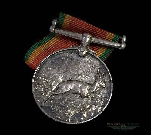 """Medalha de Serviço na África do Sul """"Nomeada"""" - 2ª Guerra Mundial"""