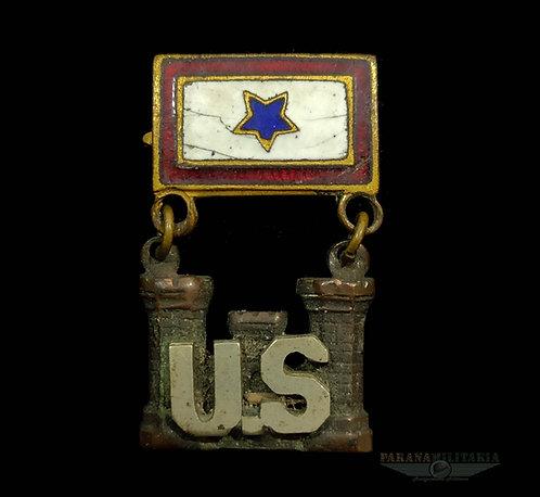 Blue Star, filho em serviço corpo de engenheiros - 1ª Guerra Mundial