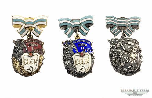 Ordem Soviética da Glória Materna - 2ª Guerra Mundial