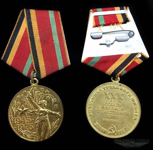 Medalha Soviética 30 anos da Vitória 2ª Guerra Mundial
