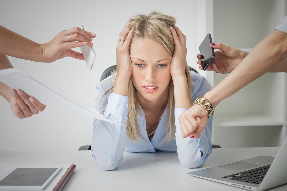Stress, work, life, demands