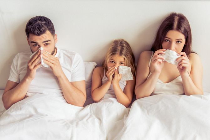 The Cold & Flu Season's Survival Guide