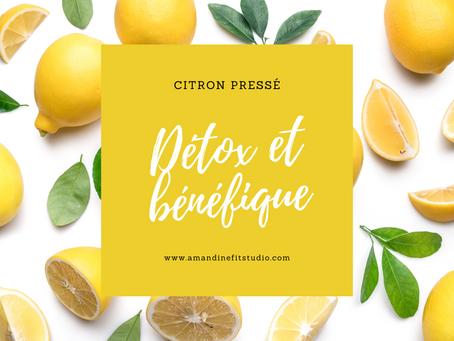 Le citron jaune et ses effets détox 🍋