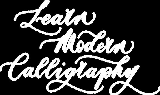 Learn Modern Calligraphy