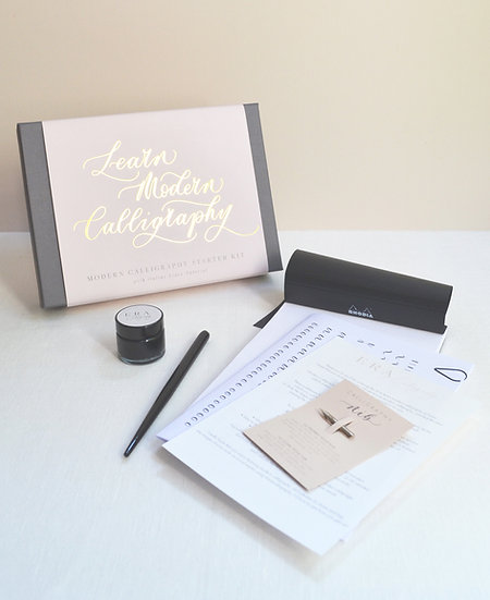 Luxury Beginner's Modern Calligraphy Gift Kit