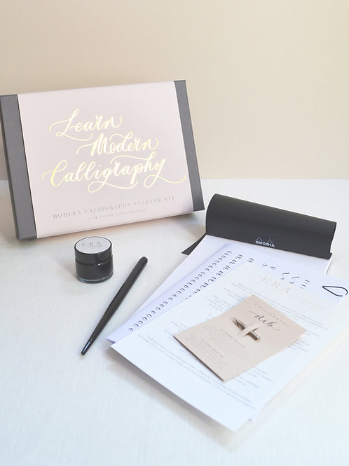 Luxury Calligraphy Gift Box