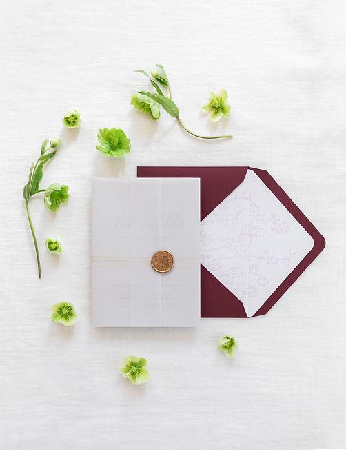 ERA Calligraphy Bespoke Letterpress Wedd
