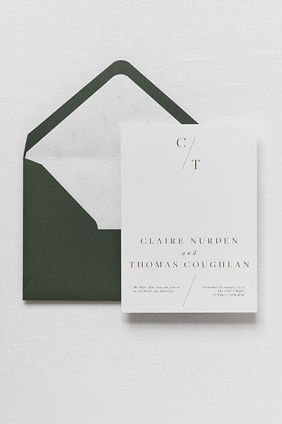 luxury customisable wedding stationery