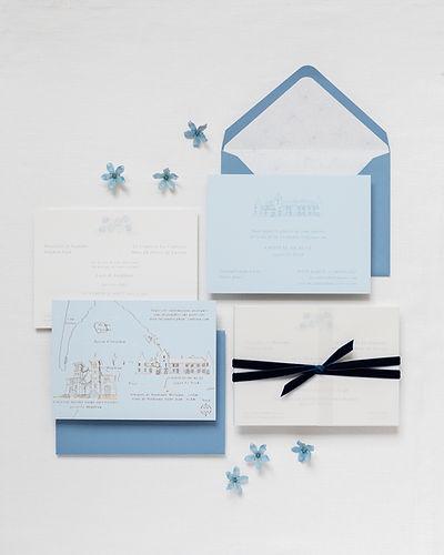 luxury bespoke wedding stationery