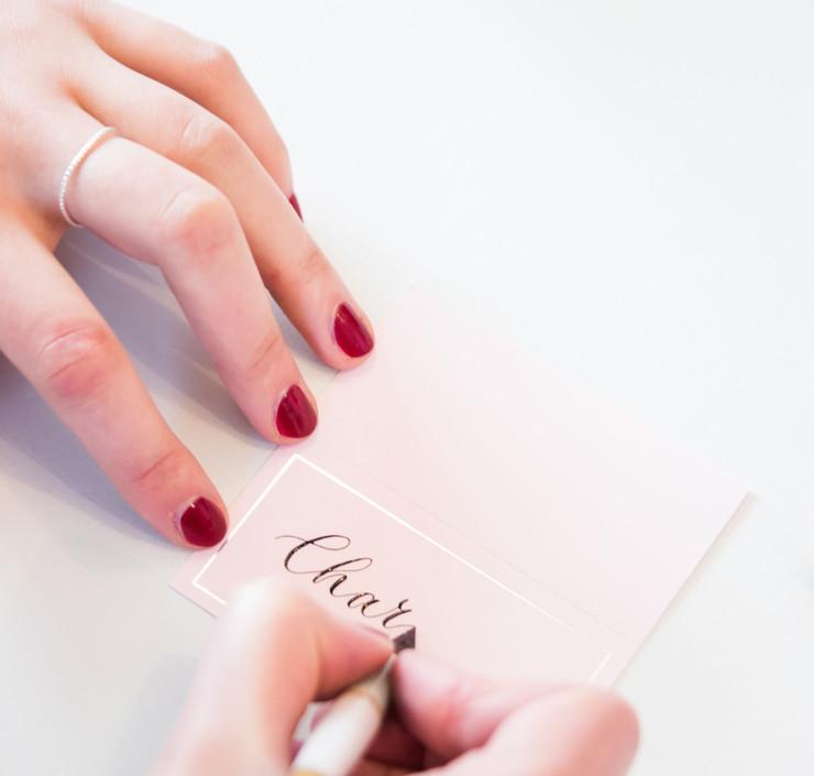 ERA Calligraphy Nov styled brand shoot S