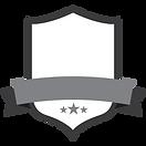 Blank Grey Badge