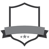 Blank Grey Badge