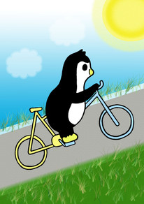 Crafty Penguin Cycling Design