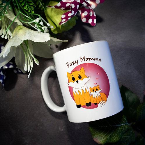 Foxy Momma mug, fox mug, mum gift
