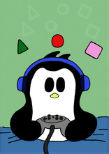 Crafty Penguin Gamer Design