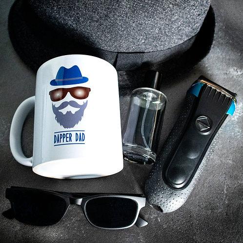 Dapper Dad mug, Father gift