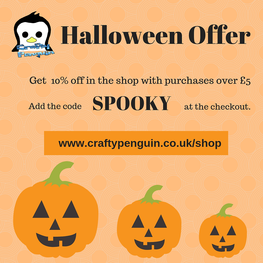 10% off when you spend over £5 in the online shop