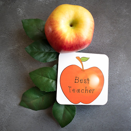 Apple for the Teacher, coaster