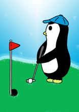 Crafty Penguin Golf Design