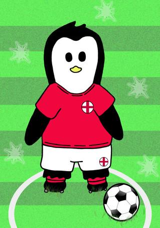 Crafty Penguin Football Design