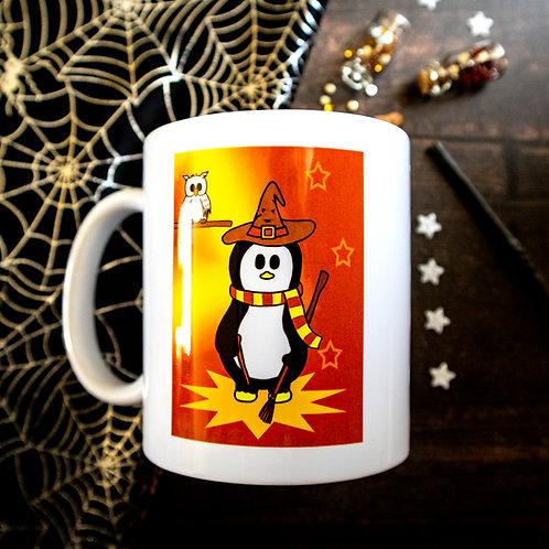 Wizard mug, magical gift, ceramic