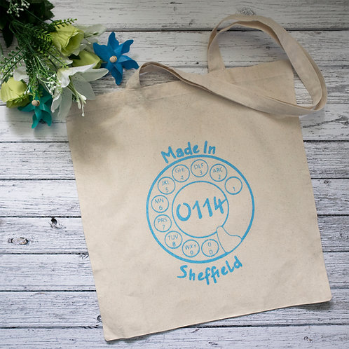 Made in Sheffield, Tote Bag