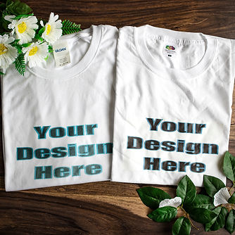 Crafty Penguin offers design services including printing T-shirts