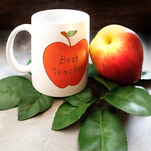 Good apple, best Teacher, mug