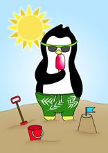 Crafty Penguin Summer Design