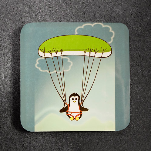 Paragliding Penguin, flying, outdoor, coaster