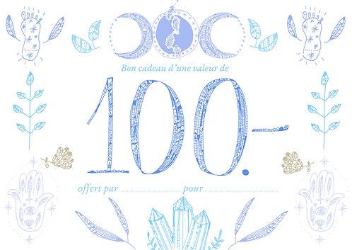 Bon cadeau 100.-