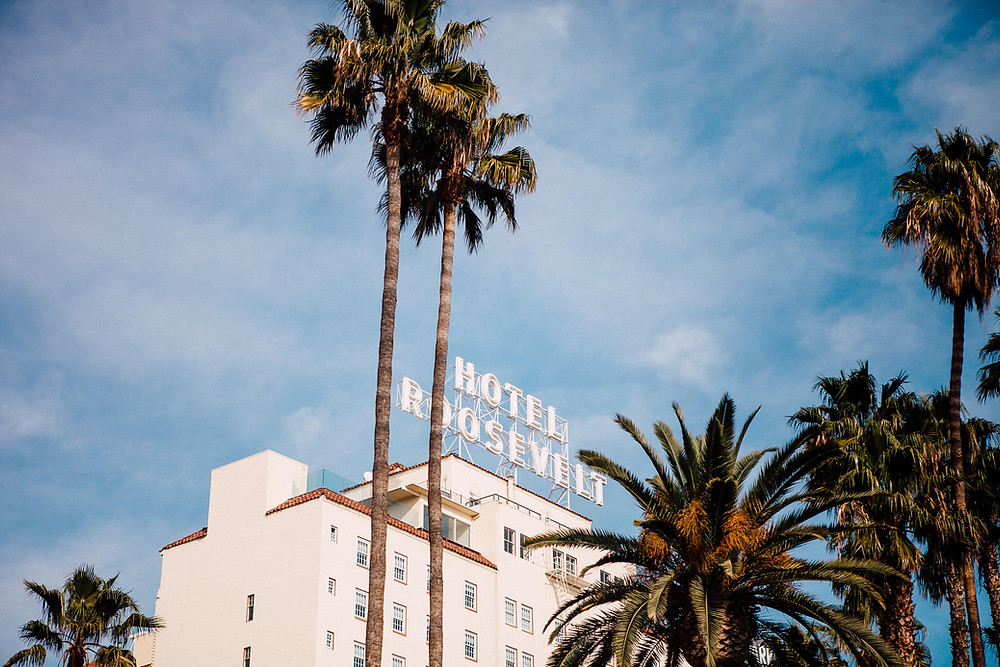 Hotel Roosevelt in Hollywood, CA