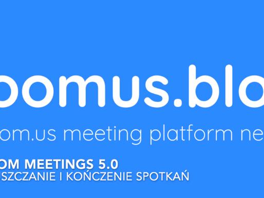 Zoom Meetings 5.0 - jak opuścić spotkanie będąc host'em?