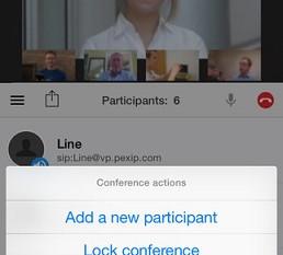 Nowe aplikacje Pexip Connect dla iOS.