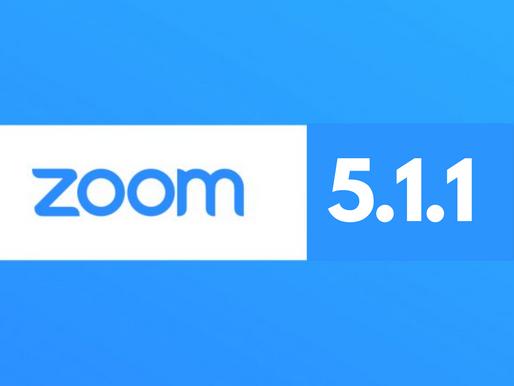Zoom Meetings 5.1.1 - sporo nowości