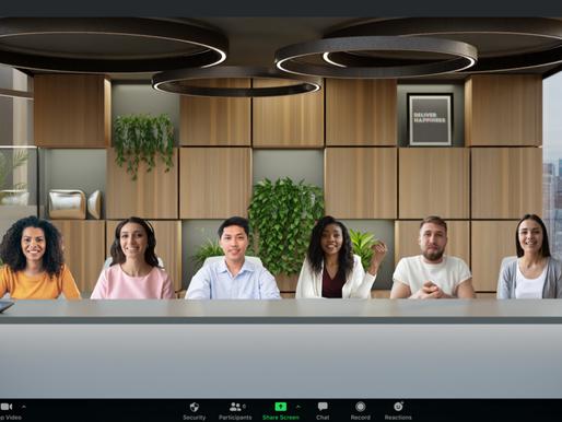 Zoom Immersive View czyli odwzorowanie sali wykładowej lub konferencyjnej na spotkaniu Zoom.