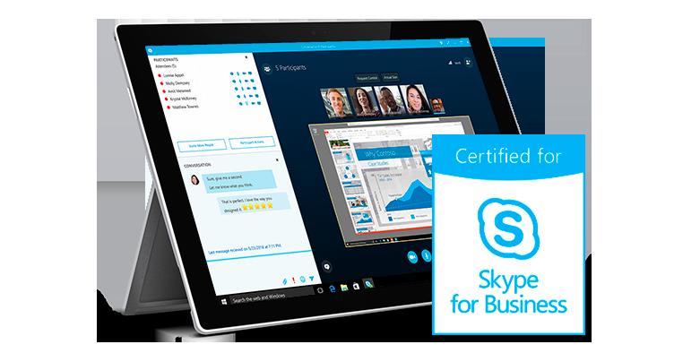 Pexip certyfikowany jako gateway do Skype dla Firm