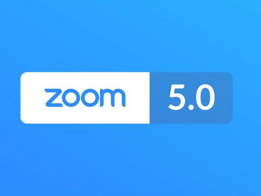 Zoom Meetings 5.0 - kolejne nowości dotyczące bezpieczeństwa (wersja 5.0)