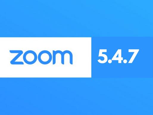 Zoom Meetings 5.4.7 - dużo nowości