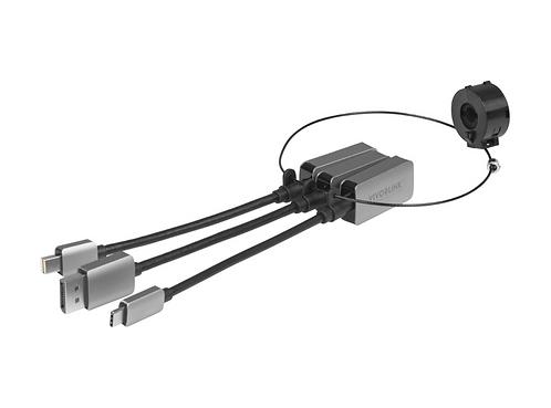 Vivolink Adapter USB-C + Mini DP + DP na HDMI (PROADRING7C)