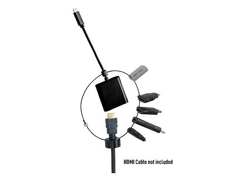 Vivolink Adapter Ring HDMI (PROADRING3B) - MiniDP+DP+MiniHDMI+MicroHDMI+USB-C