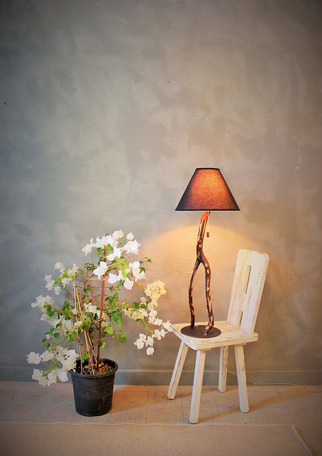 African Decorative Lamp