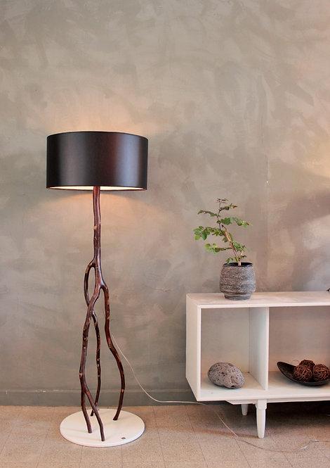 African floor lamp